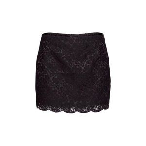 Aritzia black lace skirt